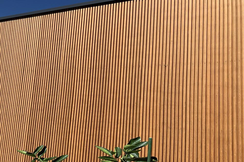 Painel de Bambu Ripado